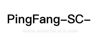PingFang-SC-Semibold