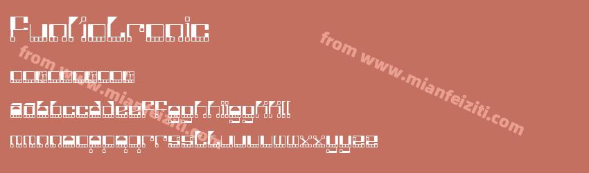 Funkotronic字体预览